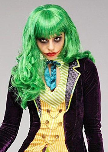 Magic Box Mujeres la Peluca de Misfit Verde Estilo Joker: Amazon.es: Juguetes y juegos