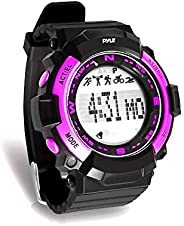 Pyle Sports PSPTR19 - Fitness Tracker Wrist Watch with Countdown Timer and Chronograph Stop Watch - Pedometer