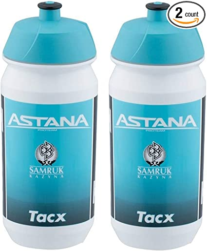 2 Pack Polar Insulated Water Bottle Bike 24oz Blue Pair Hot or Cold BPA-Free