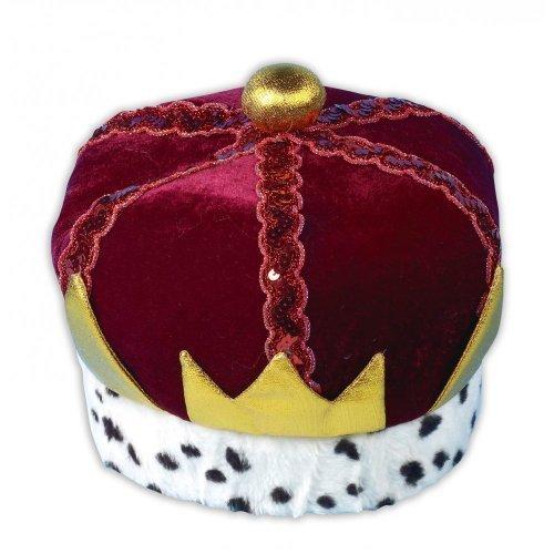 [King Childs Fancy Dress Crown / Hat For School Christmas Nativity] (Fancy Dress Christmas Costume)