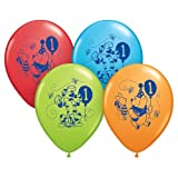 Winnie the Pooh 1st Birthday Balloons (6 Count)