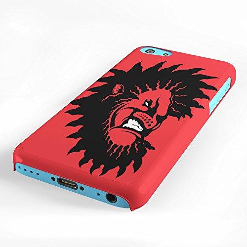 Koveru Back Cover Case for Apple iPhone 5C - Lion Saw