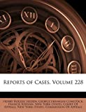 Reports of Cases, Henry Rogers Selden, 1144251230