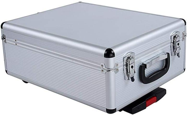 399Pcs Juego de Herramientas de Mec/ánica de Mano con Caja Malet/ín de Herramientas de Aluminio 4 Bandejas 45 x 36 x 17cm