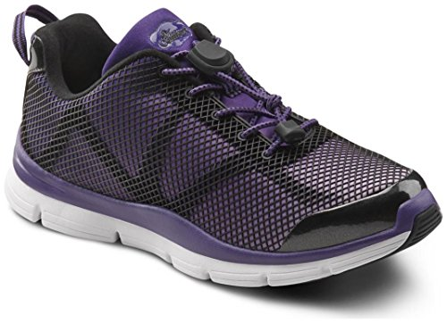 Dr. Comfort Katy Women's Therapeutic Extra Depth Athletic Shoe: Purple 7.5 X-Wide (E-2E) Lace by Dr. Comfort