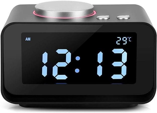 Reloj Radio Despertador Digital Pantalla LCD Despertador Radio FM ...