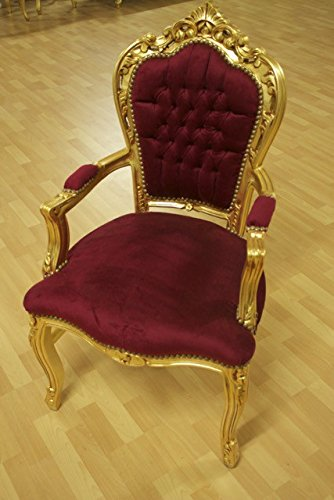 LouisXV butaca barroco fauteuille estilo antiguo rococó ...