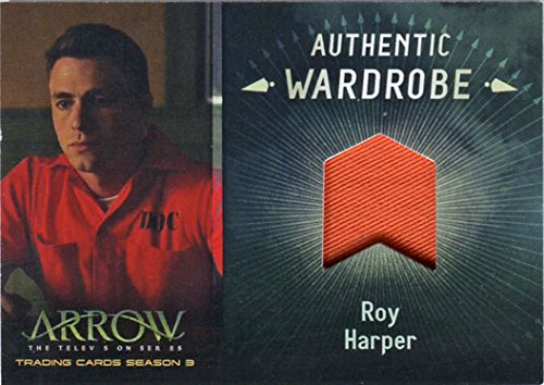 Roy Harper Arrow Costume (Arrow Season 3 Costume Wardrobe Card M09 Colton Haynes as Roy Harper)