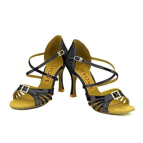 Women's Profession Black T T Q Black Shoes Dance t6UEqwZ