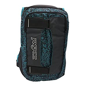 Blue and Black Tumble Jansport Backpack