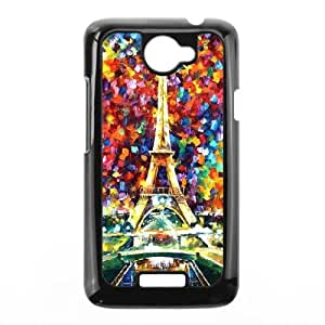 HTC One X Black Phone Case Oil painting Personalized DIY Cell Phone Case XTIAEG00782