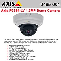 AXIS P3364-LV 6mm - Network camera - dome - vandal-proof - color ( Day&Night ) - 1280 x 960 - vari *
