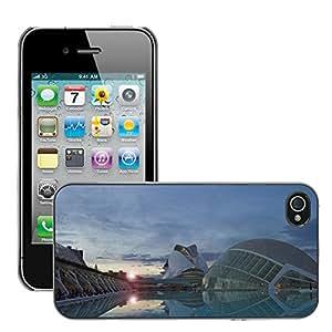 Print Motif Coque de protection Case Cover // M00293525 Ciudad de Artes y Ciencias de la // Apple iPhone 4 4S 4G