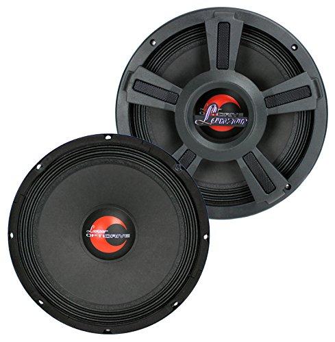Lanzar OPTI10MI 4 Ohm Power Speakers