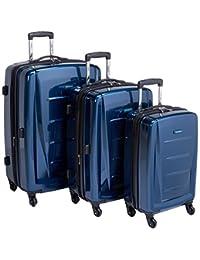 Samsonite Winfield 2 3PC Hardside (20/24/28) Luggage Set, Deep Blue