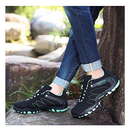 Alltid Pen Kvinner / Menns Walking Hiking Trail Sko Tilfeldige Joggesko Joggesko Sort-2