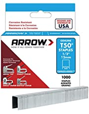 ARROW T50 Staples Box 1000 - roestvrij staal 508ss 12mm 1/2in