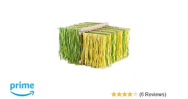 Amazon.com: Eppicotispai X-Large Natural Beachwood Collapsible Pasta Drying Rack, Brown: Kitchen & Dining