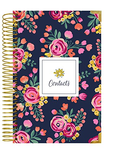 bloom daily planners Address Book - Contacts - Addresses and Phone Numbers - 6