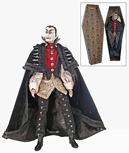 Katherines Count Vampire Figurine in Coffin 18