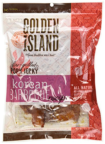 Golden Island Natural Style Pork Jerky, Korean Barbecue Recipe
