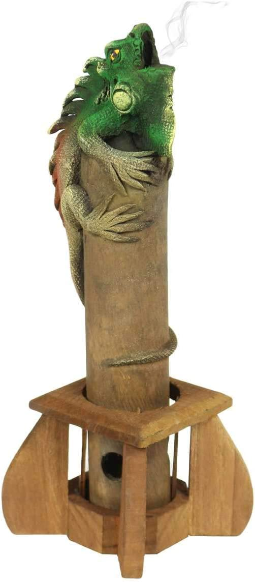 Oriental Galerie R/äucherst/äbchenhalter R/äucherst/äbchenst/änder rauchende Tiere Figur Skulptur Deko R/äucherst/äbchen ca 31 cm Design:Elefant Braun