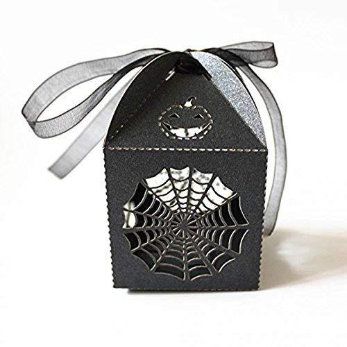 BinaryABC Halloween Candy Box, Halloween Party Favors,Halloween Party Decorations,24Pcs -