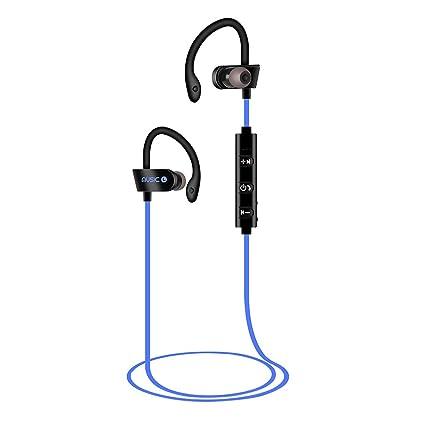 Sencillo Vida Auriculares Deportivos Bluetooth inalámbricos, Cancelación de Ruido, Auriculares estéreo portátiles, Sweatproof