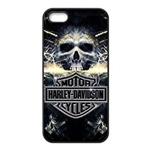 Pattern Hard Case Cover iPhone 5, 5S Cell Phone Case Black Harley Davidson Xdyqp Back Skin Case Shell