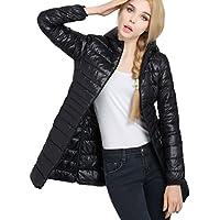 Women's Hooded Packable Down Puffer Coat Lightweight Stylish Down Winterbreaker