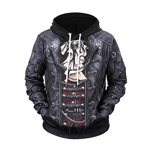 Full Body Long Sleeved - TCLY-FBY Hell Earl 3D Digital Printed Taro Full Body Print Long Sleeve Hoodie, L