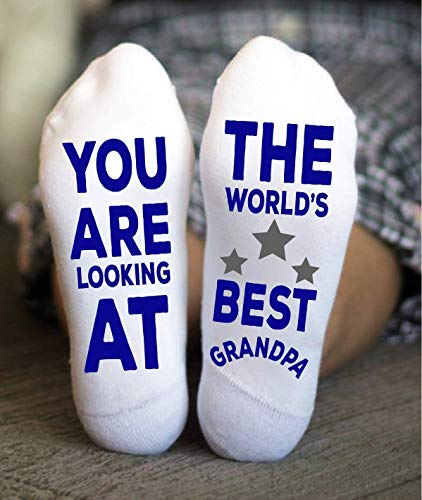 Best Grandpa Socks Papa Father Funny Birthday Gifts For Men