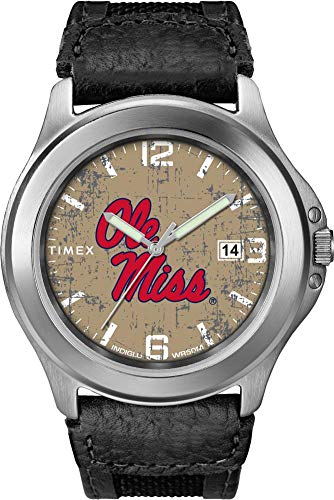 Timex Men's Ole Miss Rebels Watch Old School Vintage Watch