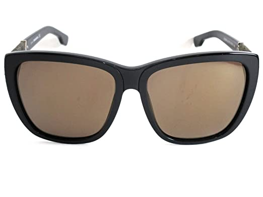 59b647fee8259b Diesel - Lunette de soleil - Femme noir noir  Amazon.fr  Vêtements ...