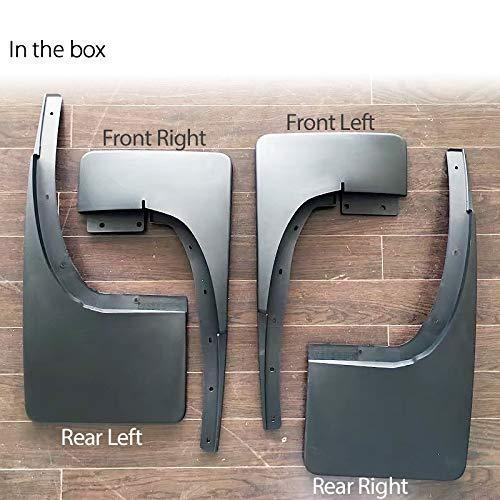 Tunez MGFR01 Protector de salpicaduras delantero trasero izquierdo derecho para FRanger T6 Mk1 Mk2 XL XLT