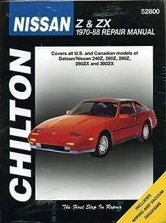 nissan 300 zx 84 89 haynes repair manuals haynes 0038345011375 rh amazon com Nissan 300ZX Relay Manual Nissan 300ZX Relay Manual
