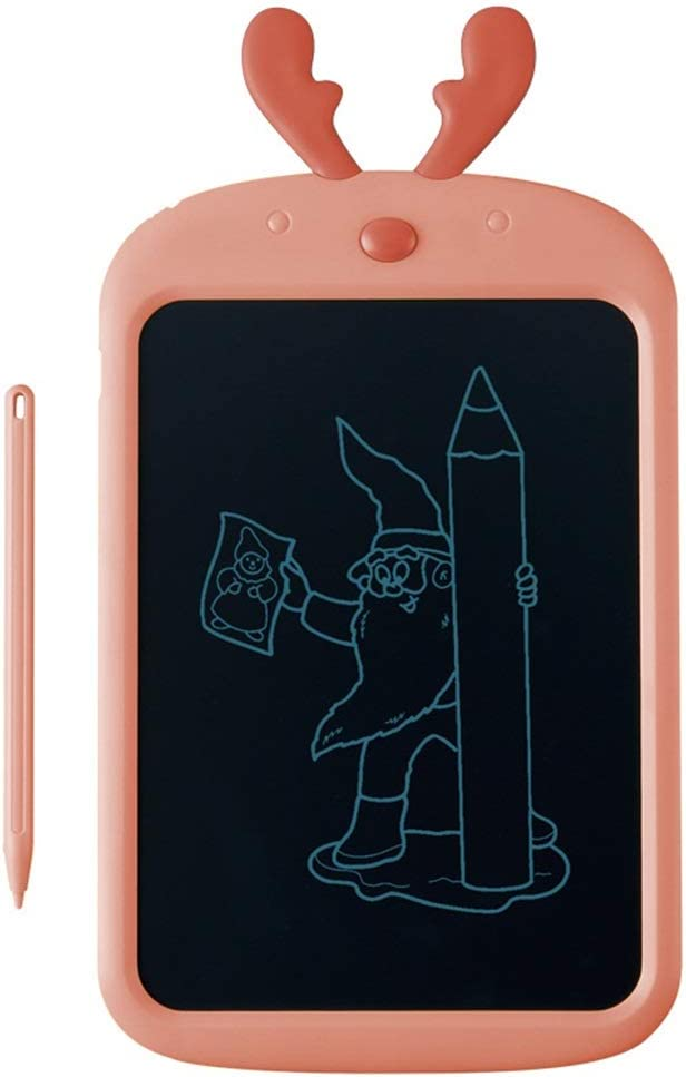 Office Drawing Tablet for Kids LCD Writing Tablet Drawing Tablet Doodle Board for Kids Color : Pink, Size : 8.5 inches Electronic Digital Notepad for School