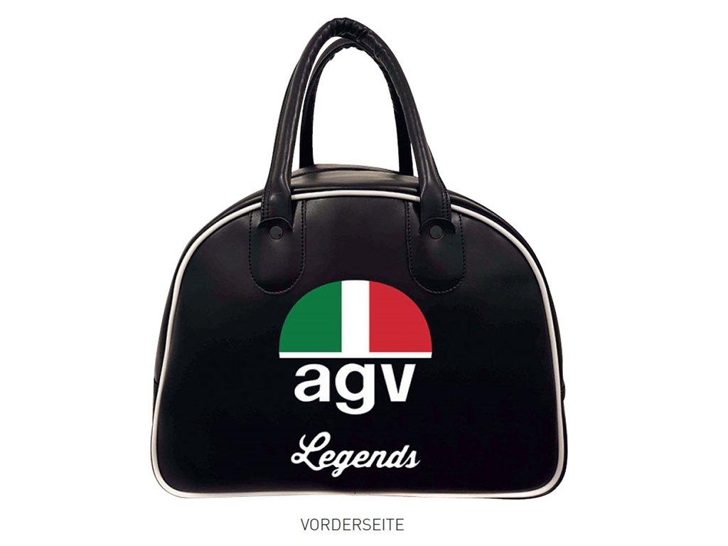 AGV Motorrad Helmtasche Legends Bag Leder Satin f/ür AGV Helme X3000 und X70