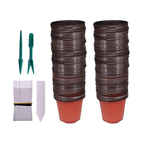 4in plastic pot - 7