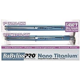 BaBylissPRO Nano Titanium 1 Inch Ultra Thin Flat Iron Combo - 51z450F1S3L - BaBylissPRO Nano Titanium 1 Inch Ultra Thin Flat Iron Combo