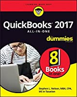 QuickBooks 2017 All-In-One For Dummies Front Cover