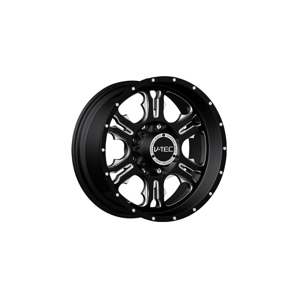 VISION WHEEL   397 rage   20 Inch Rim x 9   (6x135) Offset (12) Wheel Finish   gloss black milled spoke