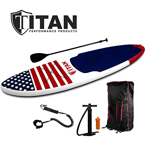 All-American Inflatable Paddle Board (10' 6