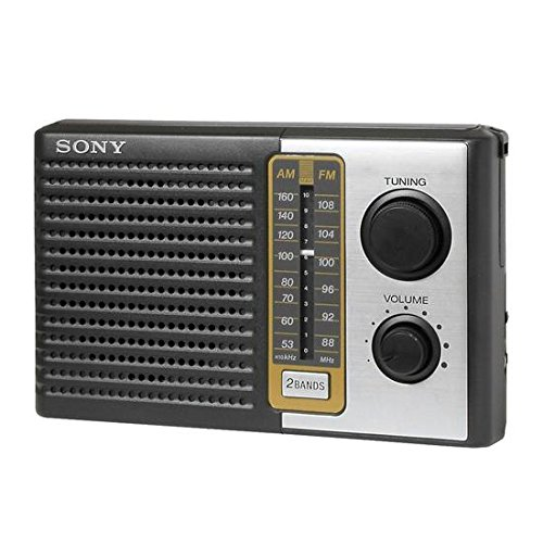 Sony All in One Compact Design Pocket Portable Size AM/FM Ra