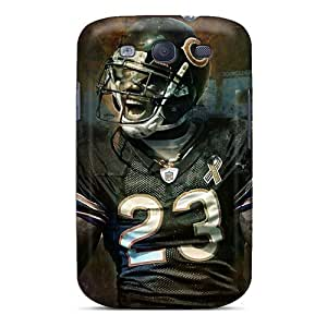 Scratch Resistant Hard Cell-phone Case For Samsung Galaxy S3 (chw20252ZOOL) Customized Attractive Chicago Bears Series
