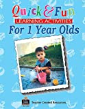 Quick and Fun Learning Activities for 1 Year Olds, Marla Pender McGhee, 1557345546