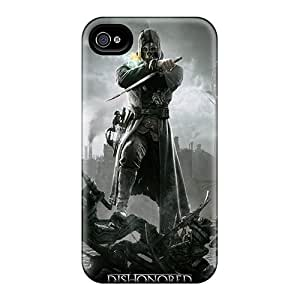 Excellent Design Dishonored 2012 Phone Case For Iphone 4/4s Premium Tpu Case