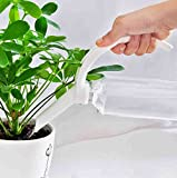 Watering Honey Creative Plastic Bottle Watering Spout, Bottle Converter Watering Can for Plant Watering~White