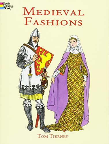 Children's Courtier Costume (Medieval Fashions Coloring Book (Dover Fashion Coloring Book))