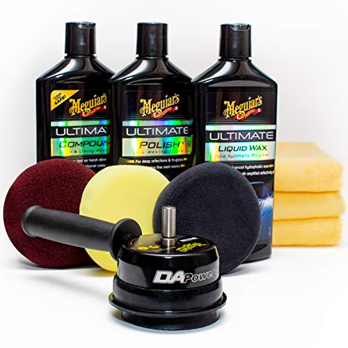 Meguiar's G55107 Dual Action Power System Kit  Get Professional Results When Detailing